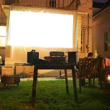 Backyard Outdoor Theater by Diy Your Own Backyard Movie Theater In 3 Steps Backyard Movie