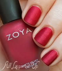 zoya mattevelvet is back see swatches of the returning nail