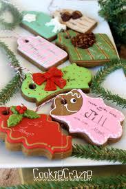 cookiecrazie christmas gift tag cookies tutorial keksi božić