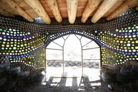 Glass Wall House by Glass Bottle Walls U2022 Nifty Homestead