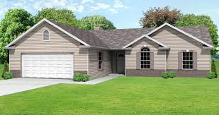 small ranch home plans with garage