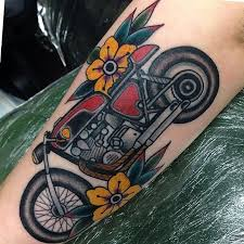 the 25 best motorcycle tattoos ideas on pinterest biker tattoos