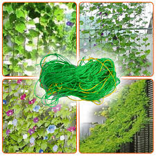 Climbing Plant Supports - net plant support netting for climbing plants fruits vine veggie