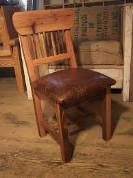 Made Dining Chairs Buy Made Reclaimed Oak Mission Style Dining Chairs With