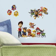 roommates paw patrol wall decal wall décor u0026 borders best buy