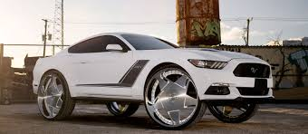 Black Rims For Mustang Dub Wheels