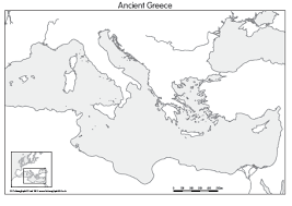 blank map of ancient greece outline map of ancient greece greece map