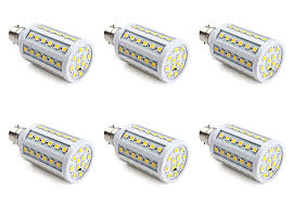 24v led light bulb 6 pack 24v 36v dc led light bulb b22 e26 l rv 12vmonster
