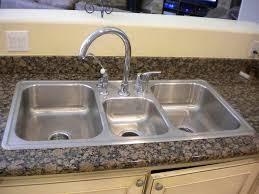 installing kitchen sink installing kitchen sink home design ideas and photos top mount
