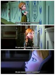 Do You Want To Build A Snowman Meme - do you want to build a snowman frozen princess anna top age 5