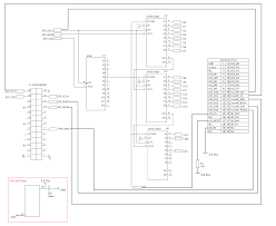 the wiring diagram s for the spi interface circuit in the wiki