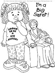 coloring pages design inspiration big sister coloring pages at