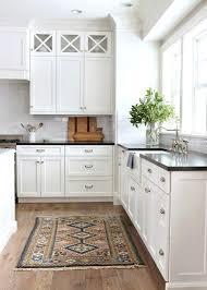 kitchen rug ideas black and white kitchen rugs snaphaven