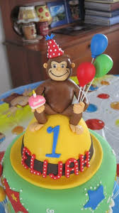curious george cake topper curious george cake topper i really enjoyed doing this cak flickr