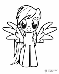 kids download free printable pony coloring pages 52