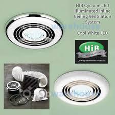 Led Light For Ceiling Hib Cyclone Led Light Bathroom Shower Ceiling Ventilation System