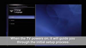 how to reset vizio tv reset your vizio via hdtv youtube