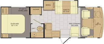 coachmen class c motorhome floor plans 2016 flair 26d fleetwood rv rv small medium class a gas