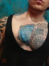 cool jason chest tattoo design tattoos for men