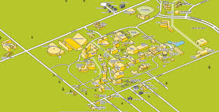 K State Campus Map by Campus Map Wichita State University Online Visitor Guide
