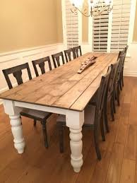 10 ft farmhouse table 10 foot farmhouse table table and chair designs and ideas