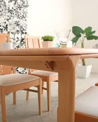 Nolsia Rakuten Global Market NOL Dining Table - Beech kitchen table