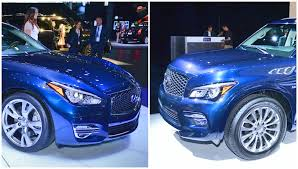 infiniti q70l 2015 infiniti q70l and qx80 get the new yorker look live photos