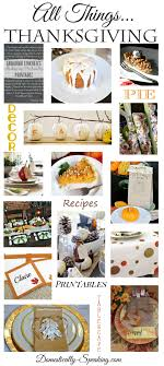 all things thanksgiving domestically speaking