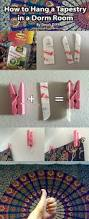 how to hang a tapestry in a dorm room damage free dorm room