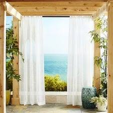outdoor curtains free shipping over 49 pier1 com pier 1 imports