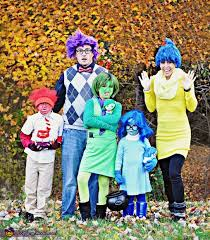 inside out costumes inside out family costume idea