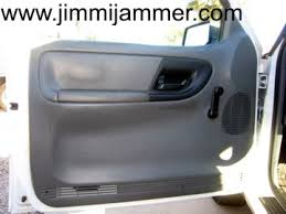 ford ranger door handle ford ranger door panel removal
