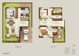 East Facing Duplex House Floor Plans by Concorde Royal Sunnyvale Location Price Reviews Bangalore