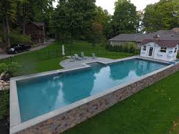Backyard Pool Cost by In Ground Pool Cost Precision Pool And Spa Upstate New York