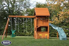 chartwell climbing frame wooden roof and enclosed playhouse