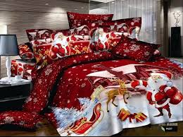 Cheap Duvet Sets Wish White And Red Cheap Duvet Cover Christmas Bed Cover 3d