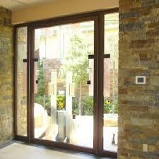 frameless glass exterior doors exterior doors maui windows and doors