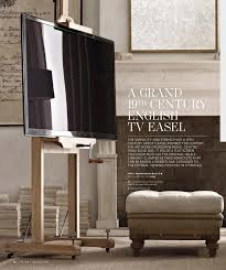 Home Interior Catalog 2013 I Absolutely Love This Idea An Easel To Hold Your Flat Screen