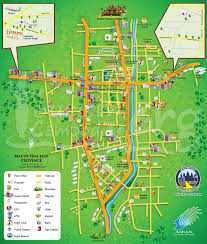 touristic map of map of siem reap province ministry of tourism cambodia mot