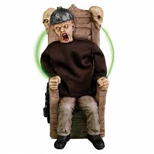 totally ghoul condemned maniac electric chair animated halloween