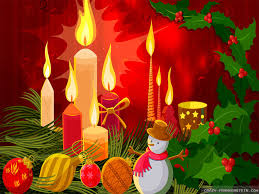 christmas candles wallpapers crazy frankenstein