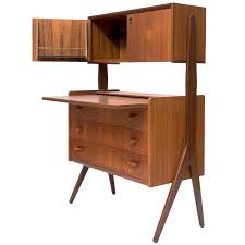 Secretary Desk Modern by Contemporary Mid Century Modern Secretary Desk Photo Desk