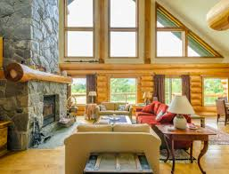 awesome log cabin interior design ideas gallery home design