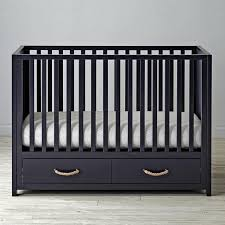 two bottom drawer crib