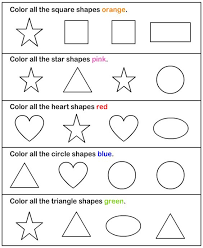 shapes worksheets for pre k worksheets