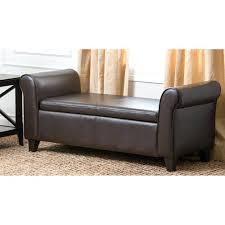 leather storage ottoman bench u2013 floorganics com