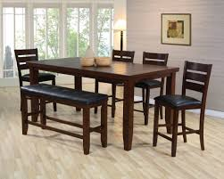 Counter Height Dining Room Sets Counter Height Dining Table Set Cm3437pt 5 Pc Foster Ii