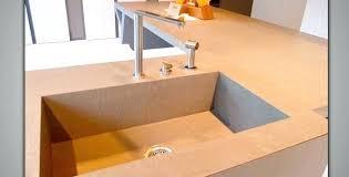 plan de travail cuisine en béton ciré beton cire plan de travail plan travail beton cire sur mesure beton