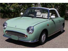 nissan figaro interior 1991 nissan figaro for sale classiccars com cc 1024020