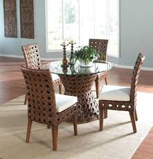 wicker dining table with glass top indoor wicker dining chairs indoor wicker dining chairs rattan shack